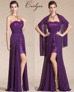 فستان السهرة البنفسيحي الجديدCarlyna