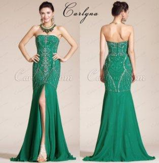 فستان السهرة الأخضر الجديد Carlyna