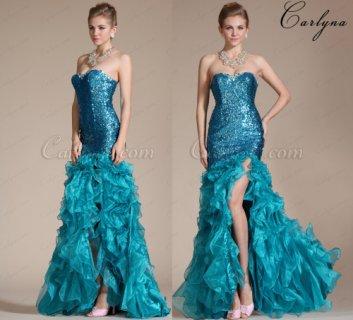 فستان أزرق أنيق جميل للبيعCarlyna