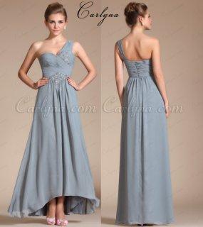 فستان السهرة الرمادي Carlyna
