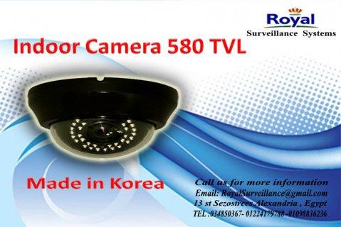 كاميرات مراقبة داخلية بجودة رائعة TVL 580 فى الاسكندرية