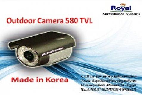 كاميرات مراقبة خارجية بجودة عالية TVL 580 فى الاسكندرية