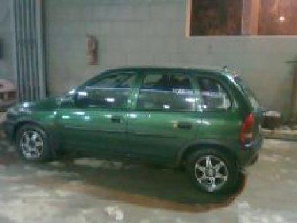 سيارة اوبل للبيع رخصة 3 سنوات
