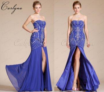 فستان السهرة الأزرق الجديدCarlyna