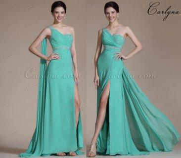 فستان السهرة الفيروز الجديدCarlyna
