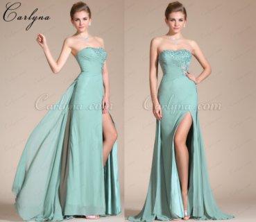 فستان السهرة الأخضر الفاتح الجديد Carlyna