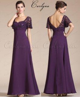 الفستان البنفسيجي للبيعCarlyna