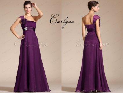 فستان السهرة البنفسيجي الأنيق Carlyna