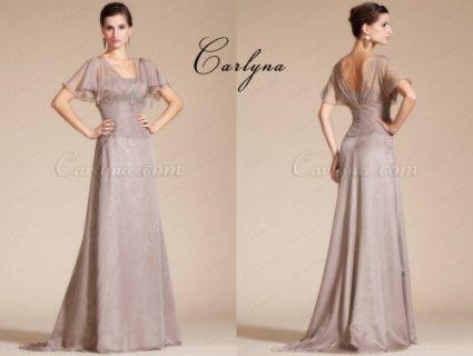 فستان السهرة الرمادي الجديدCarlyna
