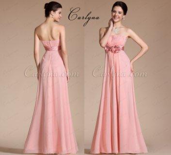 فستان السهرة الوردي الفاتح الأنيق Carlyna