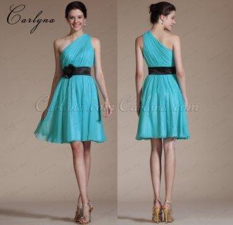 فستان السهرة الأزرق الجديد أو لوصيفات الشرف Carlyna 2014