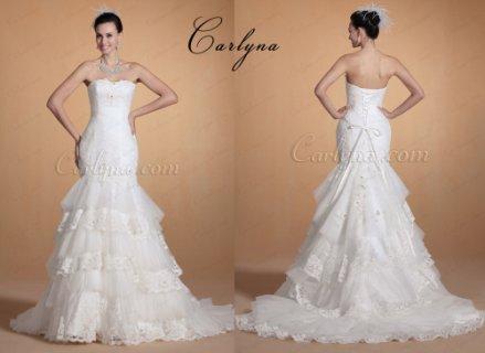 فستان الزفاف الرائع الجديدCarlyna