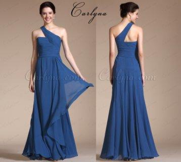 فستان السهرة الأزرق الرائج Carlyna