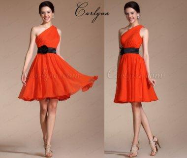 فستان برتقالي للبيعCarlyna