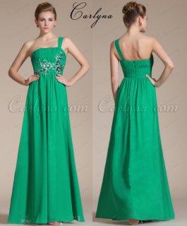 فستان السهرة الأخضر الجديدCarlyna