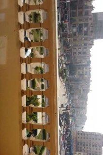 شقة  سفير مصر الجديدة في الميدان على الواجهة بالفيديو