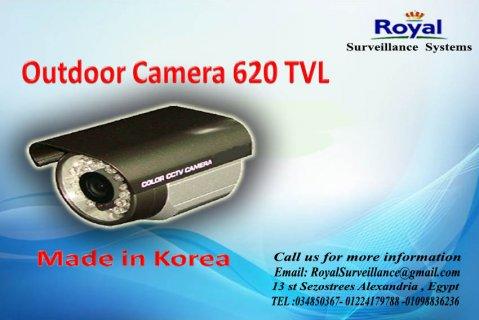 كاميرات مراقبة خارجية بجودة عالية TVL 620