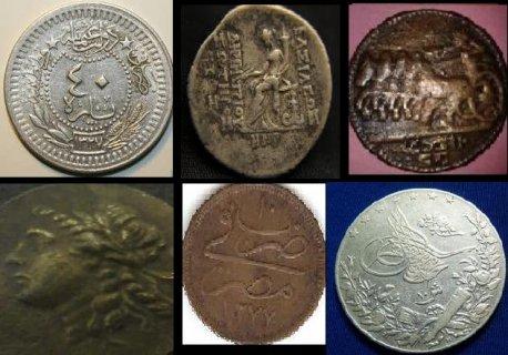 للبيع عملات أثريه مصريه