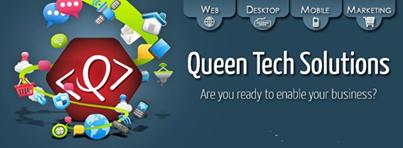 شركة Queen tech لتصميم وتطوير مواقع الإنترنت