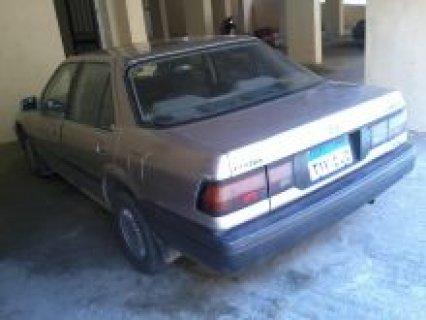 للبيع سيارة هوندا موديل 1989 فئة اكورد في حالة جيدة
