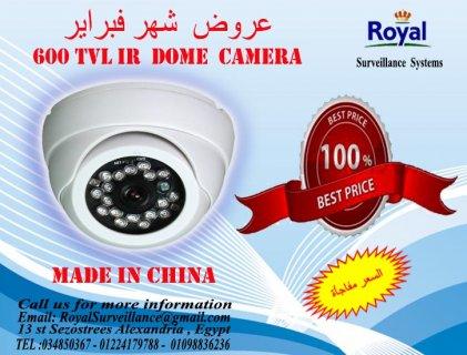 عرض شهر فبراير  كاميرا مراقبة داخلية عالية الكفاءة