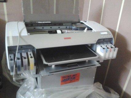 ماكينه الطباعة على التبشرتات