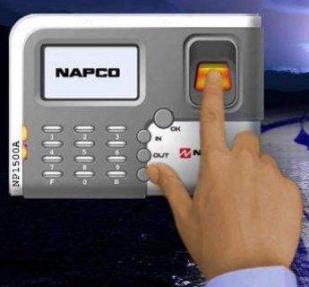 ماكينة الحضور والانصراف موديل 1500Aماركة NAPC