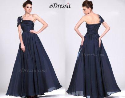 فستان أزرق قاتم للبيعeDressit