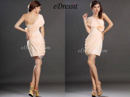 eDressit  فستان الكوكتيل الرائج الجديد بكتف واحد