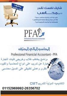 كورس PFA المحاسب المالي المهني