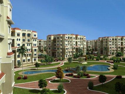شقة للبيع 135م ب387الف فقط بمدينة 6 اكتوبر موقع مميز جدا