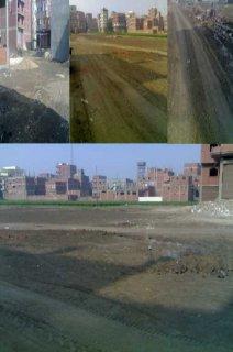 قطغ اراضى للبيع فى منطقة حى مبارك الجديده