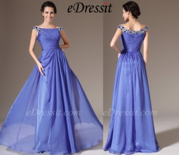eDressit 2014 فستان السهرة الجديد الرائع بخرزات و كتف منبسط