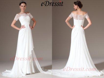 فستان الزفاف الأنيق الرائع الجديد eDressit