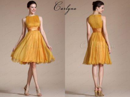 Carlyna 2014 New Sleeveless Short Dress Cocktail Dress