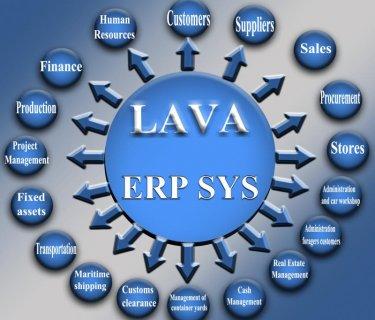 برنامج لافا (ERP ) من قدوة الخليج لتقنية المعلومات