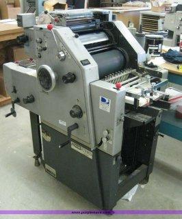 ماكينة طباعة اوفست ريوبي جنزير 2700