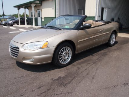 chrysler sebring covertable  for sale  كريسلر كابورليه