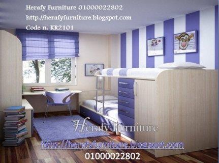 غرف نوم اطفال موديل 2014