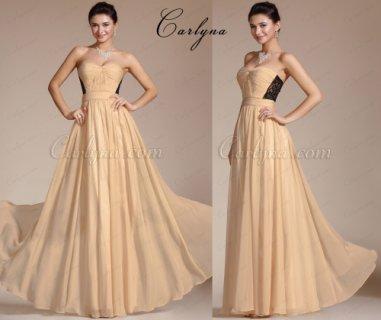 فستان سهرة الدانتيل الرائع الجديد