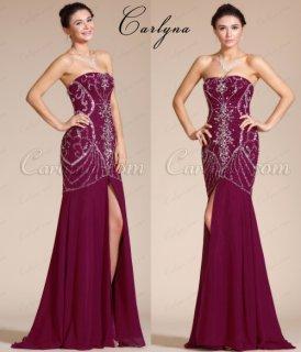 فستان سهرة الخرز الجديد Carlyna