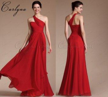 فستان السهرة الأحمر الرائج الجديد