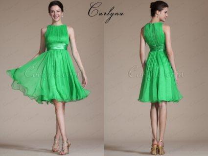 فستان الكوكتيل القصير الجديد غير الأكمام Carlyna