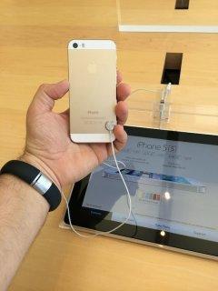 العلامة التجارية الجديدة مفتوح ابل اي فون 5S الذهب اللون