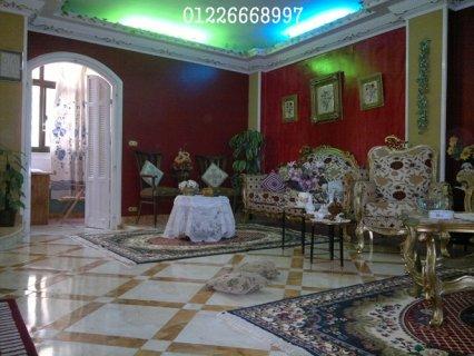 عقارات الاسماعيلية  شقق للبيع بالاسماعيلية 220 م