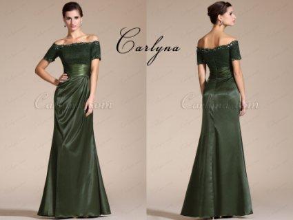 فستان رائج جديد بأكمام قصيرة و خرزات