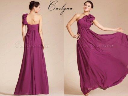 فستان السهرة الأنيق الجديد بكتف واحد