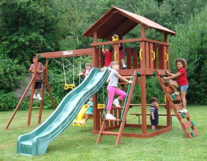 مجمعات خشبية للاطفال  للبيع