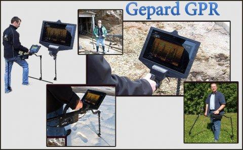 اقوى اجهزة كشف الذهب يعمل بنظام اندرويد - GEPARD GPR