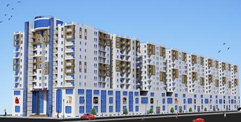 في ميامي الجديدة وعلى شارع مصطفى كامل شقة 105 متر  سعر المتر3000